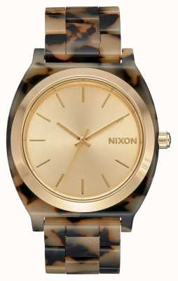 Nixon Zeitzähleracetat | Sahneschildkröte | cremefarbenes Zifferblatt A327-3346-00