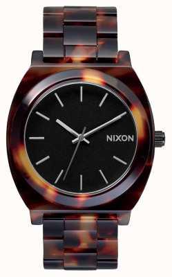 Nixon Zeitzähleracetat | Schildkröte | schwarzes Zifferblatt A327-646-00