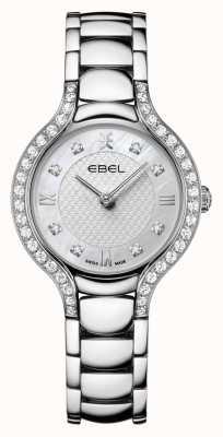 EBEL Frauenbeluga | Edelstahlarmband | Perlmutt Zifferblatt | Diamant gesetzt 1216465