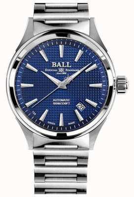 Ball Watch Company Feuerwehrmannsieg | Stahlarmband | clous de paris blau NM2098C-S5J-BE