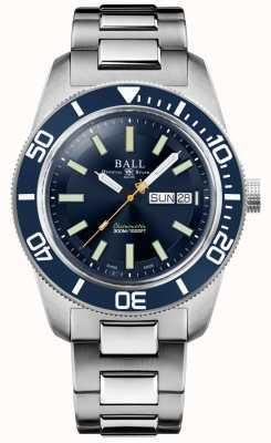 Ball Watch Company Ingenieurmeister ii | skindiver Erbe | blaues Zifferblatt | Edelstahlarmband DM3308A-S1C-BE