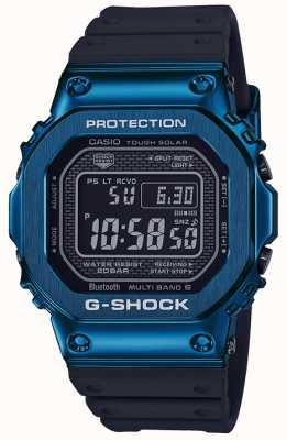 Casio G-Schock blau zäh solarblau ip plattiert GMW-B5000G-2ER