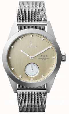Triwa Birke Aska Super Slim Mesh Armband AKST104-MS121212