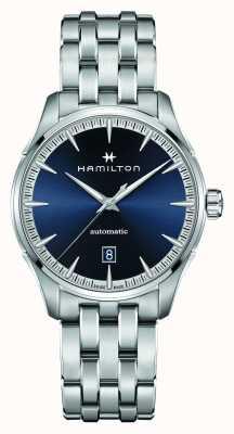 Hamilton Jazzmaster | auto | Edelstahlarmband | blaues Zifferblatt H32475140