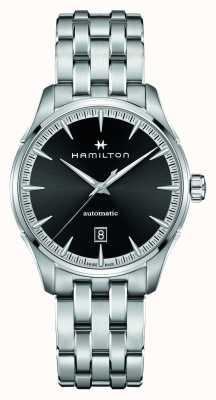Hamilton Jazzmaster | auto | Edelstahlarmband | schwarzes Zifferblatt H32475130