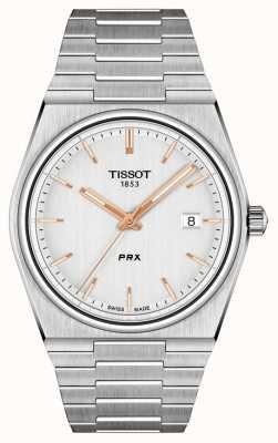 Tissot Herren Prx 40mm Quarz Silber Zifferblatt T1374101103100
