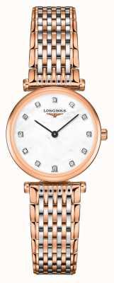 Longines Frauen | la grande classique | Diamantzifferblatt | zweifarbiges Stahlarmband L42091977