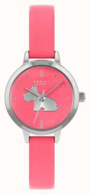 Radley Hellrosa Lederarmband für Damen | rosa Zifferblatt RY21253A