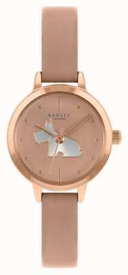 Radley Damen rosa Lederband | rosa Zifferblatt RY21254A