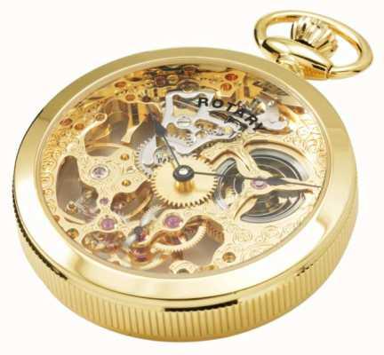 Rotary Herren | mechanisch | vergoldet | Tasche MP00727/01
