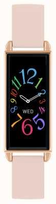 Reflex Active Serie 2 Smartwatch | Farb-Touchscreen | rosa Lederband RA02-2006