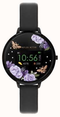 Reflex Active Serie 3 Smartwatch | schwarzer Riemen RA03-2018