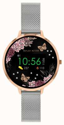 Reflex Active Serie 3 Smartwatch | Edelstahlgitterband RA03-4037