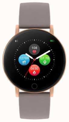 Reflex Active Serie 5 Smartwatch | Stundenmonitor | Farb-Touchscreen | Taupeband RA05-2034