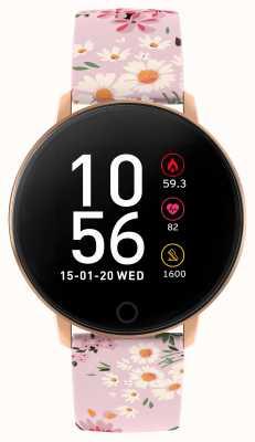 Reflex Active Serie 5 Smartwatch | Stundenmonitor | Farb-Touchscreen | rosa Riemen RA05-2062