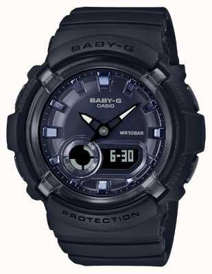 Casio Baby-g | schwarzes Harzband | schwarzes Zifferblatt | BGA-280-1AER