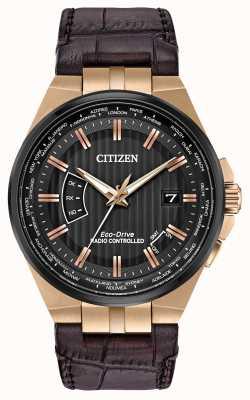 Citizen Männerwelt ewig bei | braunes Lederband CB0168-08E