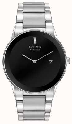 Citizen Herren Eco-Drive Axiom Silber Armband AU1060-51E