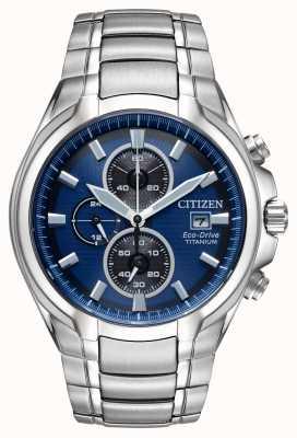 Citizen Titan-Armband aus Eco-Drive für Herren CA0700-51L