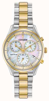 Citizen Eco-Drive Chronographenarmband für Damen FB1444-56D