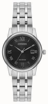 Citizen Silberarmband für Damen mit Öko-Antrieb EW2310-59E