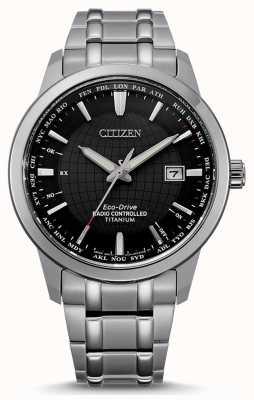 Citizen Funkgesteuerte Welt für Männer mit Öko-Antrieb CB0190-84E