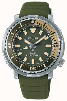 Seiko Prospex | grünes Silikonband | grünes Zifferblatt SUT405P1