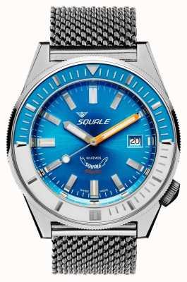 Squale Matic hellblaues Netz | automatisch | blaues Zifferblatt | Edelstahl-Mesh-Armband MATICXSE.ME22-CINSS22