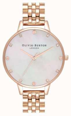 Olivia Burton Demi erröten Mop Roségold Armband OB16SE15