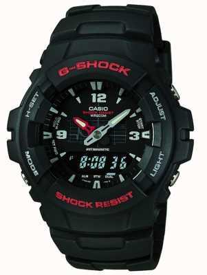 Casio G-Schock Chronograph g-100-1bvmes G-100-1BVMUR