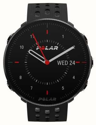 Polar Aussicht m2   schwarz / graues Silikonarmband 90085160
