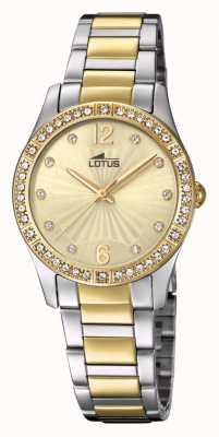 Lotus Damenarmband aus Gold und Silberstahl L18384/1