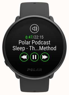 Polar 2   entzünden schwarze Perle   Aktivitäts- und Stunden-Tracker schwarzes Silikonband   s / l 90085182