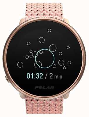 Polar 2   entzünden pink & rose   Aktivitäts- und Stunden-Tracker rosa Stoffarmband   s / m 90085186