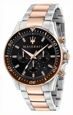 Maserati Sfida Herren zweifarbiges Armband R8873640009