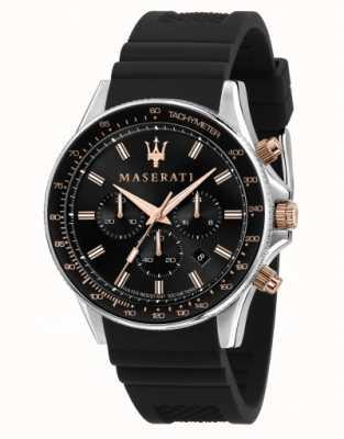 Maserati Sfida Herren Silikonarmbanduhr R8871640002