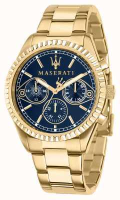 Maserati Competizione Herren Gelbgold Uhr R8853100026