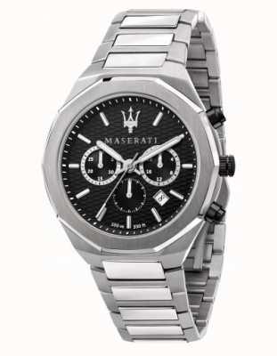Maserati Stile Herren Chronograph Edelstahl Uhr R8873642004
