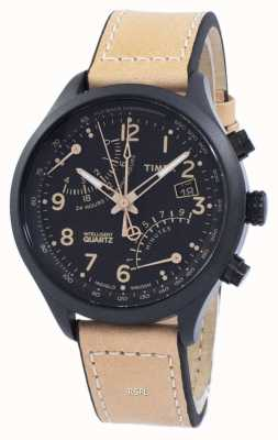 Timex IQ T Serie Fly-Back Chronograph T2N700 Armbanduhr